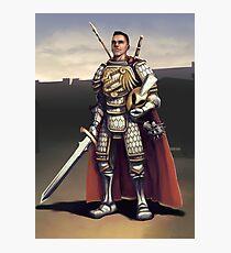Fantasy Knight Photographic Print