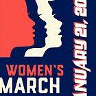 « women march on January 21 2017 » par ikamawardi