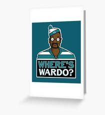 Where's Wardo? Greeting Card