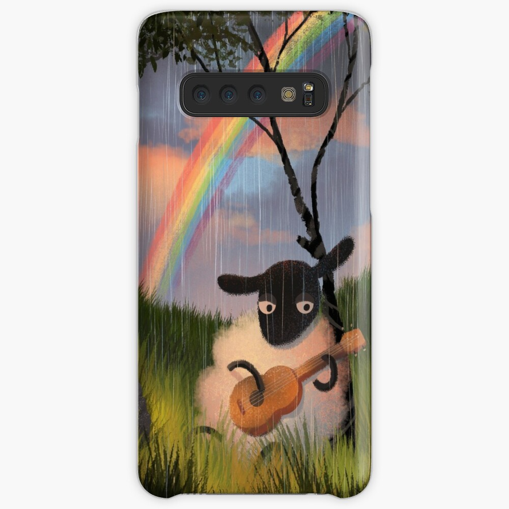 Sheep Playing Guitar Case & Skin for Samsung Galaxy
