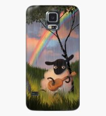Sheep Playing Guitar Case/Skin for Samsung Galaxy