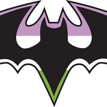 Genderqueer/Non-Binary Bat by samielsiedesign