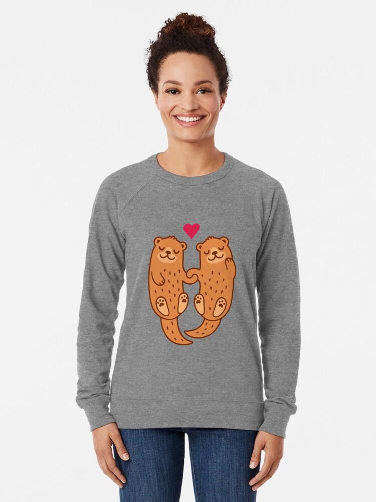 Alternative Ansicht von Otterly bezaubernd Leichter Pullover