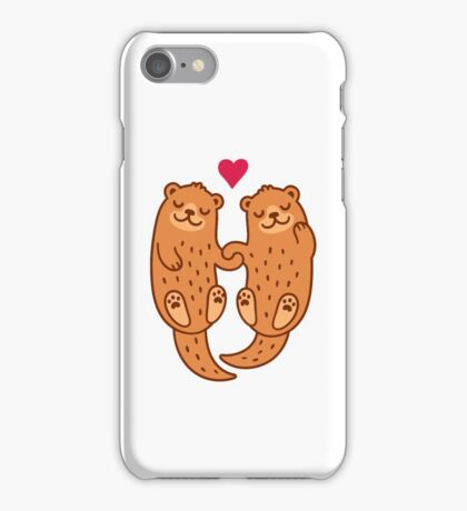 Otterly adorable iPhone Case/Skin