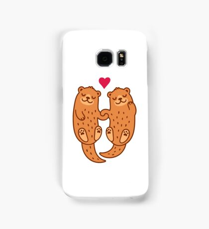 Otterly adorable Samsung Galaxy Case/Skin