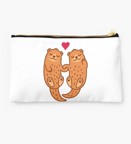 Otterly adorable Studio Pouch