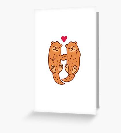 Otterly adorable Carte de vœux