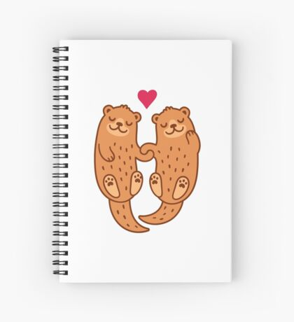 Otterly adorable Spiral Notebook