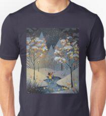 Ice Skating Cat T-Shirt