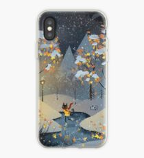 Ice Skating Cat iPhone Case