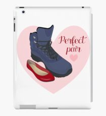 The perfect pair - male and female shoes.  iPad Case/Skin