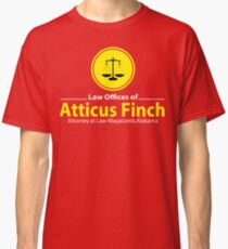 ATTICUS FINCH LAW Classic T-Shirt