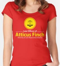 ATTICUS FINCH LAW Women's Fitted Scoop T-Shirt