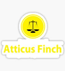 ATTICUS FINCH LAW Sticker