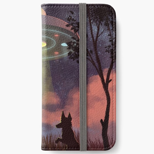 UFO Sighting iPhone Wallet