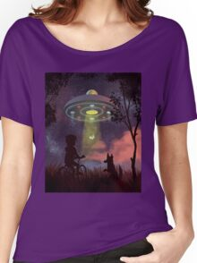 UFO Sighting T-shirt femme coupe relax