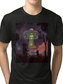 UFO Sighting Tri-blend T-Shirt