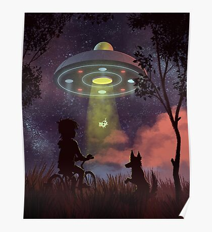 UFO Sighting Poster