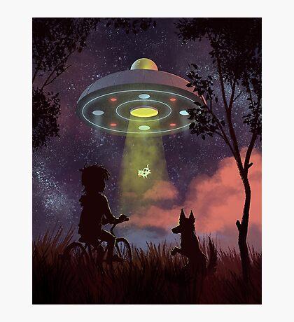 UFO Sighting Photographic Print
