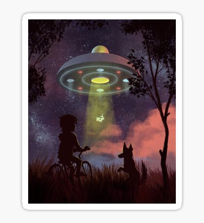 UFO Sighting Sticker