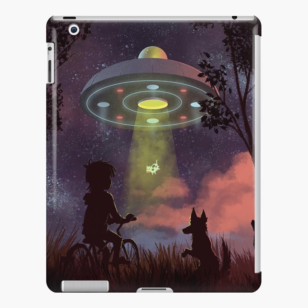 Avistamiento OVNI Funda y vinilo para iPad