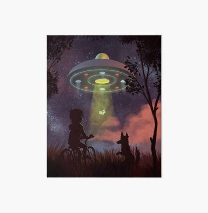 UFO Sighting Impression rigide