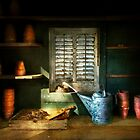 Gardener - The potters shed by Michael Savad