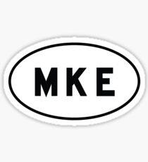 Euro Sticker - MKE - General Mitchell International Airport Sticker