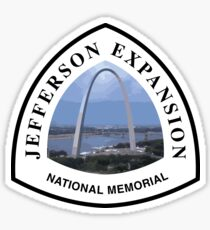 Jefferson National Expansion Memorial Sticker