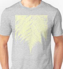 Concrete Fern Yellow Unisex T-Shirt