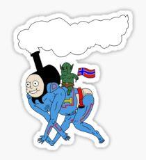Thomas the Train Person Sticker