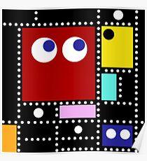 Pac Mondrian Poster