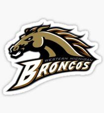 Western Michigan Broncos  Sticker