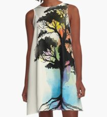 Natural Source  A-Line Dress