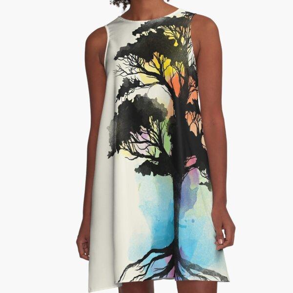 Natural Source  A-Line Dress
