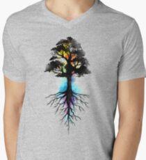 Natural Source  Men's V-Neck T-Shirt