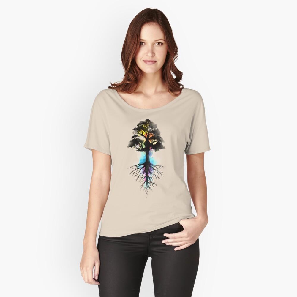 Natürliche Quelle Loose Fit T-Shirt