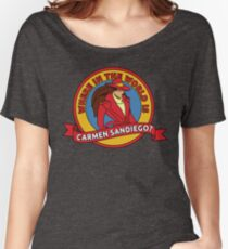 Where in the World is Carmen Sandiego? Women's Relaxed Fit T-Shirt