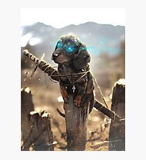 Cute Kipper - Grimslingers Art Photographic Print