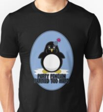 Party Penguin Partied Too Hard Unisex T-Shirt