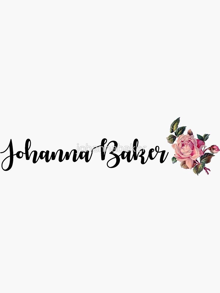 Johanna Baker Logo by johannabaker