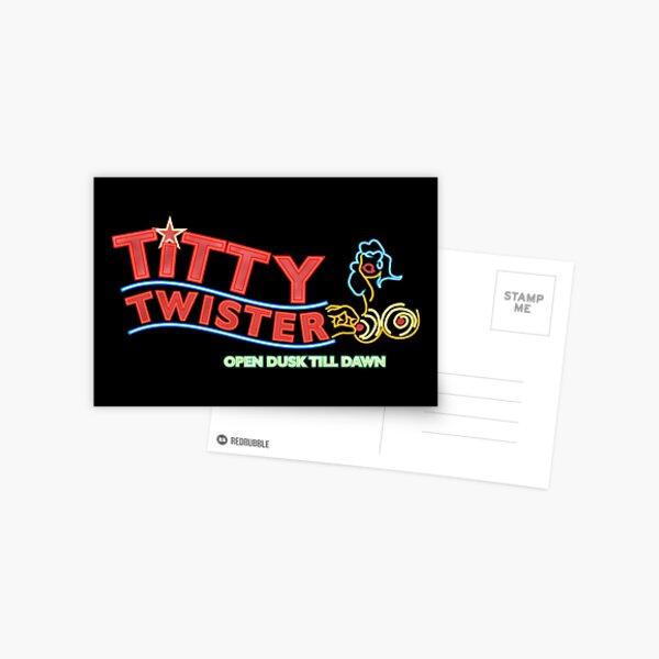 Titty Twister Club From Dusk Till Dawn Postcard