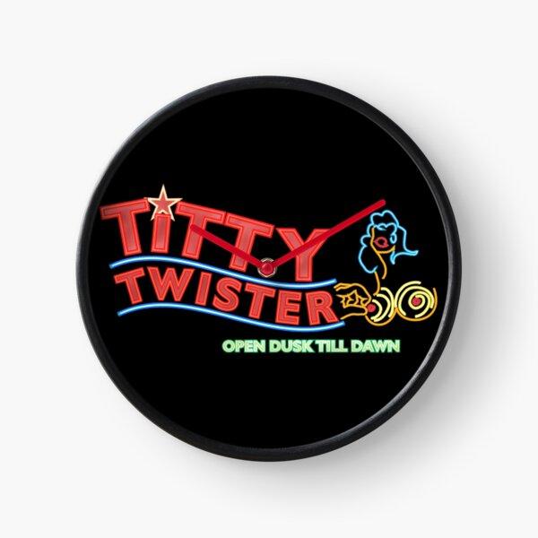 Titty Twister Club From Dusk Till Dawn Clock