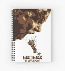 Mad Max Fury Road Movie Spiral Notebook