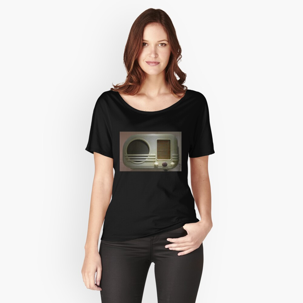 Deco Radio Women's Relaxed Fit T-Shirt Front