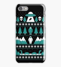 Paranormal Christmas Sweater iPhone Case/Skin