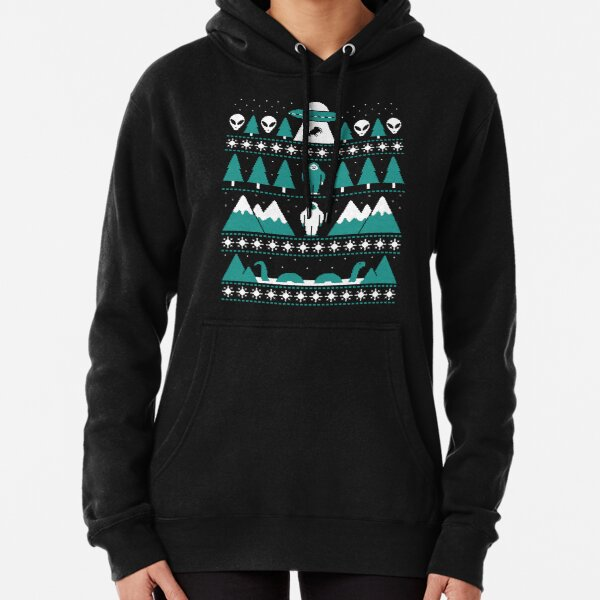 Paranormal Christmas Sweater Pullover Hoodie