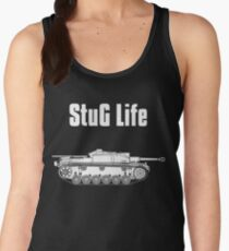 StuG Life - Military History Visualized (Vertical Version) Women's Tank Top