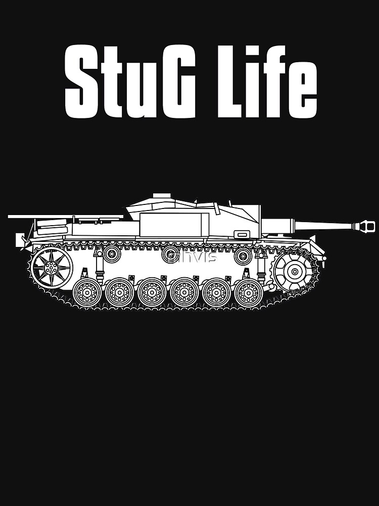 StuG Life - Military History Visualized (Vertical Version) | Unisex T-Shirt