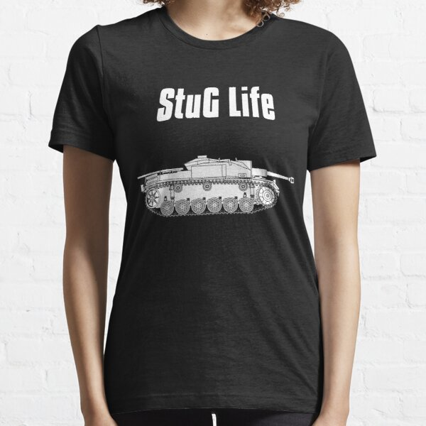 StuG Life - Military History Visualized (Vertical Version) Essential T-Shirt